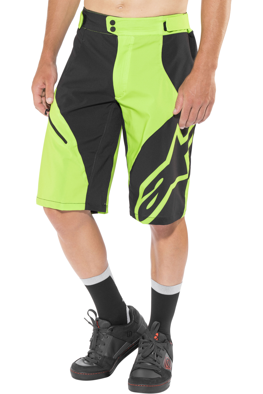d62ffed3b9d9ac Alpinestars Pathfinder Base Racing pantaloncini da ciclismo Uomo, bright  green black